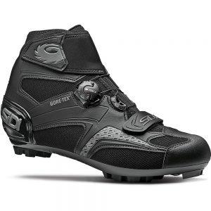 Sidi Frost Gore 2 MTB Cycling Shoes SS21 - EU 43 - Black-Black, Black-Black