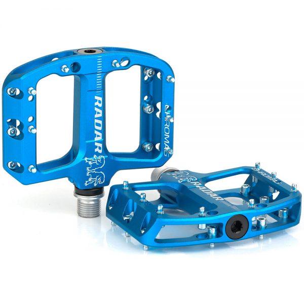 Chromag Radar Youth MTB Pedals - Blue, Blue