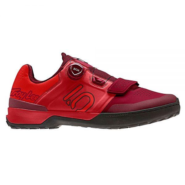 Five Ten Kestrel Pro BOA TLD Shoes - EU 46.5 - Strong Red-Core Black, Strong Red-Core Black