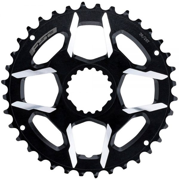 FSA K-Force MTB Modular Chainring - Black - 38.28t, Black