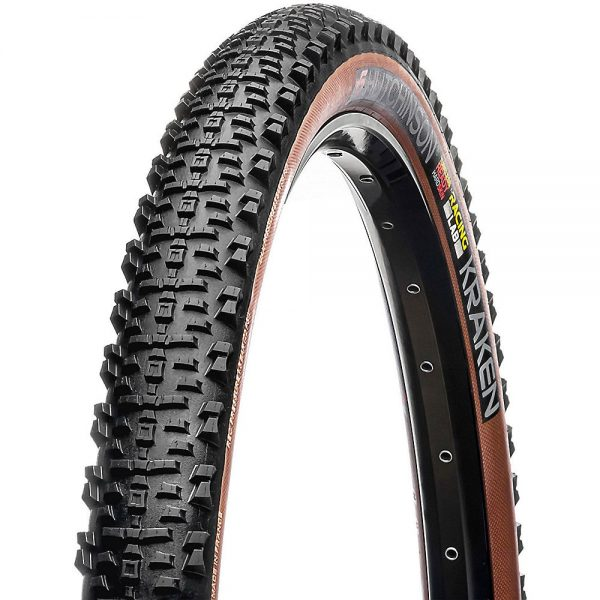 Hutchinson Kraken RLAB MTB Tyre - Standard - Black - Tan Sidewall, Black - Tan Sidewall