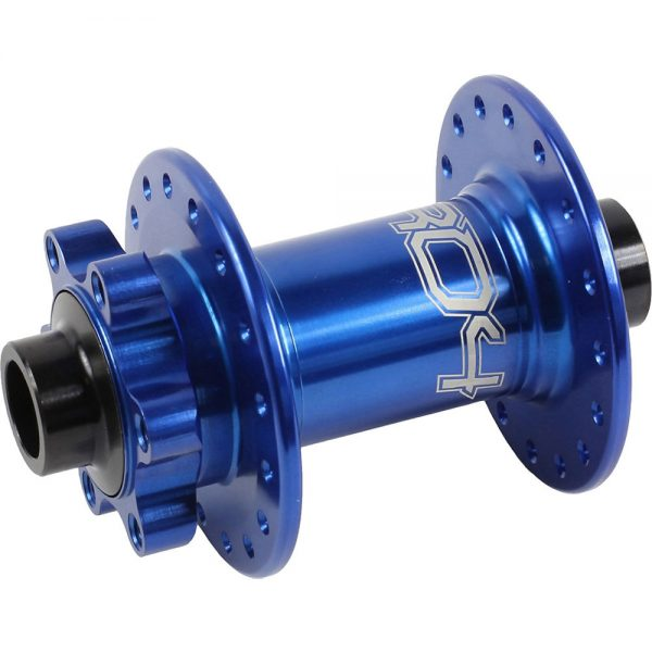Hope Pro 4 MTB Front Hub - 36h - 15mm Axle - Blue, Blue