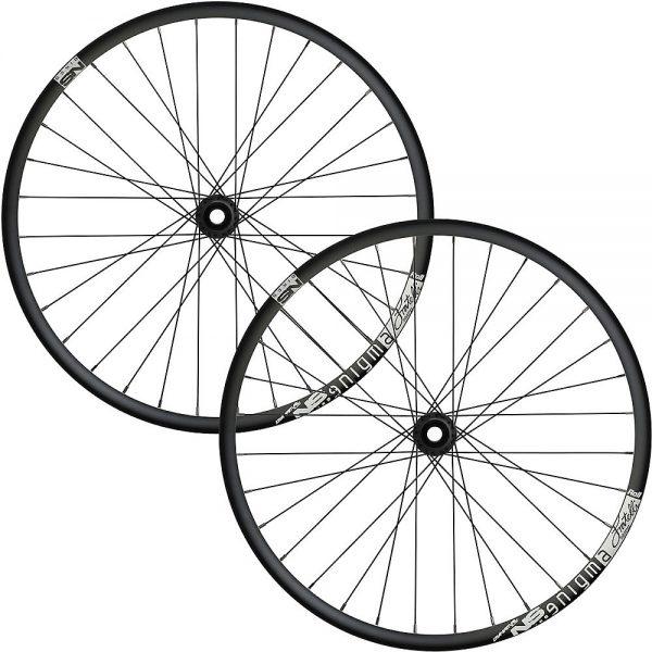 NS Bikes Enigma Roll Boost Enduro MTB Wheelset 2019 - Black - 12x148mm, Black