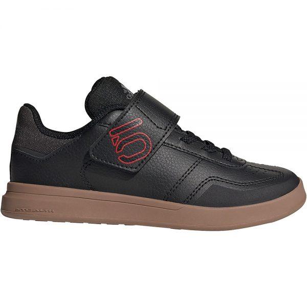 Five Ten Freerider Kid's Sleuth DLX MTB Shoes - Kids UK 12 - Black, Black