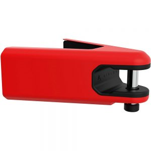 Hiplok AIRLOK Wall Mounted Lock & Hanger - Sold Secure Gold Rated - Red, Red