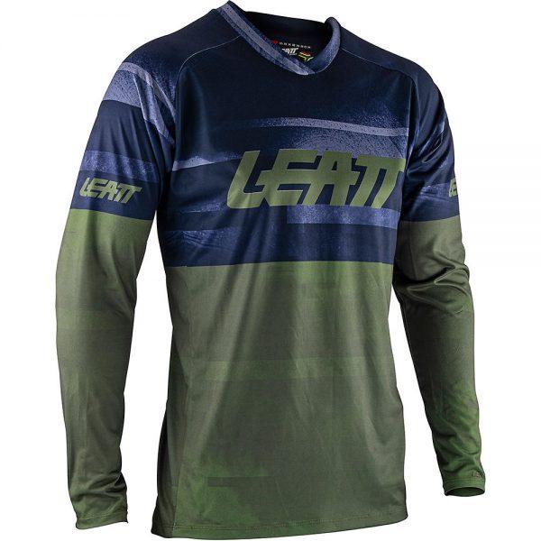 Leatt MTB 2.0 Long Sleeve Jersey 2021 - M - Cactus, Cactus