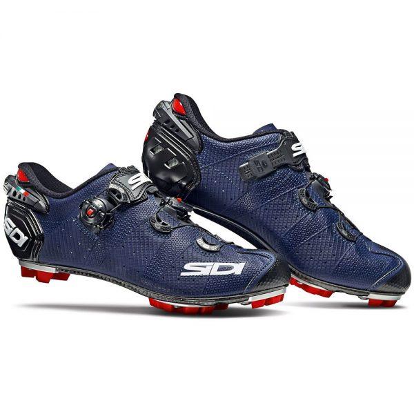 Sidi Drako 2 SRS Matt MTB Shoes 2019 - EU 48 - Matt Blue-Black, Matt Blue-Black