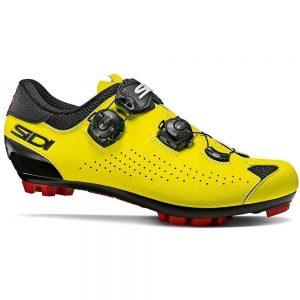 Sidi Eagle 10 MTB Shoes - EU 39.5 - Black-Yellow Fluo, Black-Yellow Fluo