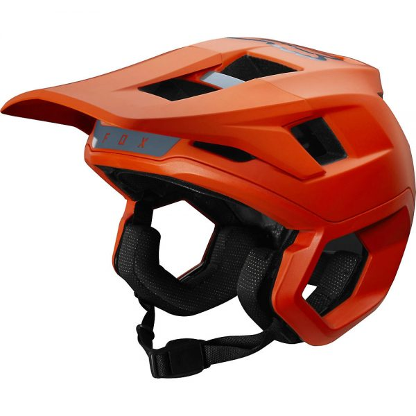Fox Racing Dropframe Pro MTB Helmet - S - Orange, Orange