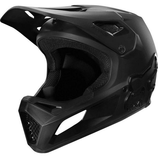 Fox Racing Youth Rampage MTB Helmet - S - Black, Black