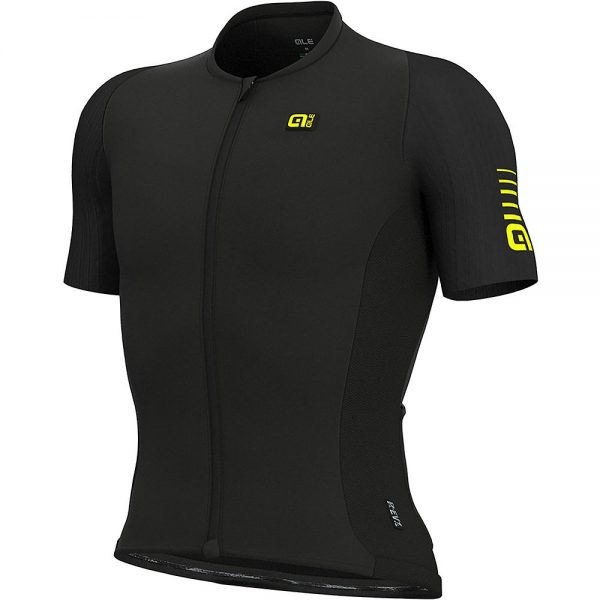 Alé REV1 MC Race Jersey - XXL - Black, Black