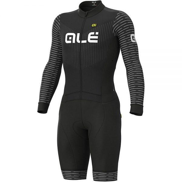 Alé Fuga Ciclocross Skinsuit - XXXL - Black-White, Black-White