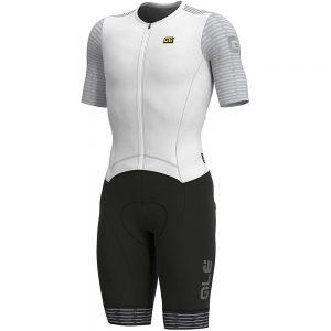 Alé REV1 Fuga Skinsuit - XL - White, White