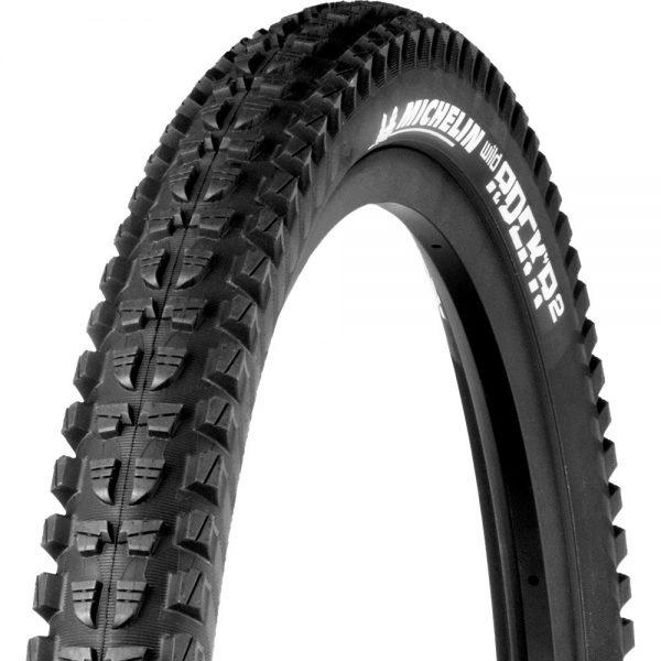 Michelin Rock R2 Enduro Magix TLR Front MTB Tyre - Folding Bead - Black, Black