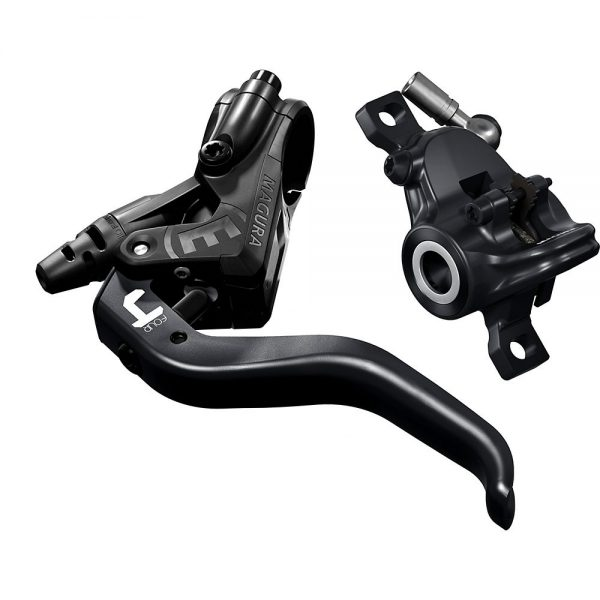 Magura MT4 MTB Disc Brake - Left or Right Hand - Black, Black