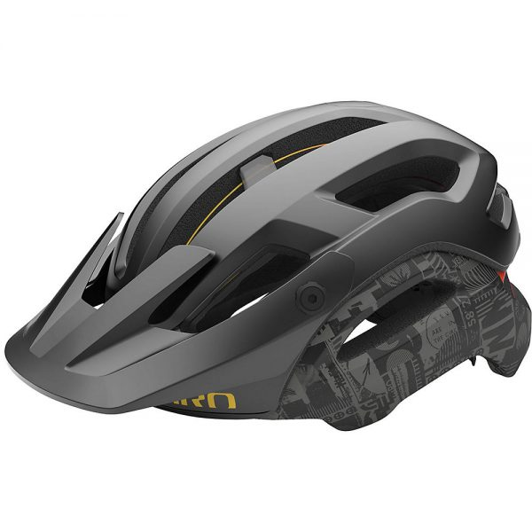 Giro Manifest MIPS MTB Helmet 2020 - S - Black Hypnotic, Black Hypnotic