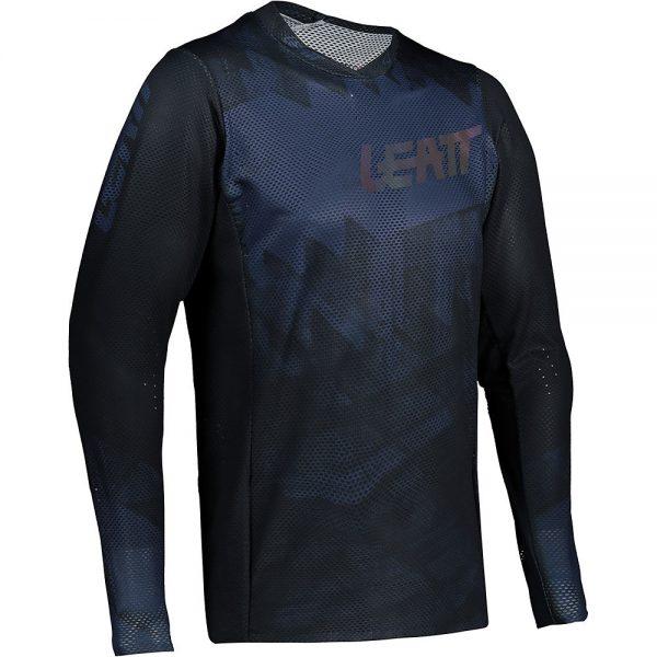 Leatt MTB 4.0 UltraWeld Jersey 2021 - XL - Black, Black