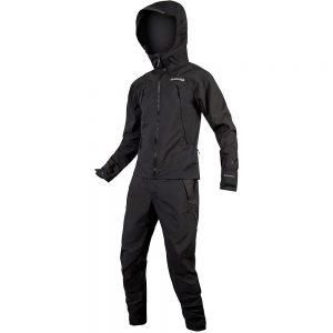 Endura MT500 Waterproof One Piece MTB Suit II 2020 - XXL - Black, Black