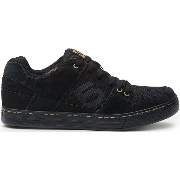 Five Ten Freerider MTB Shoes - UK 8.5 - Black-Khaki-White, Black-Khaki-White