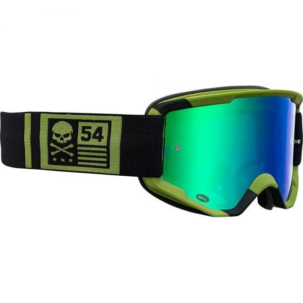 Bell Descender MTB Crossbones Goggles 2020 - Green-Black 20, Green-Black 20