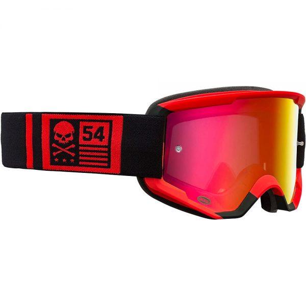 Bell Descender MTB Crossbones Goggles 2020 - Red-Black 20, Red-Black 20