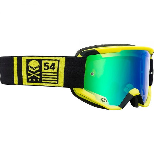 Bell Descender MTB Crossbones Goggles 2020 - Yellow-Black 20, Yellow-Black 20
