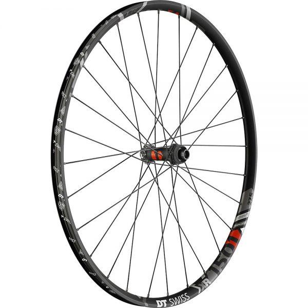 DT Swiss XR 1501 Spline One 22.5 MTB Front Wheel - 15 x 100mm 6-Bolt - Black, Black