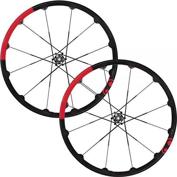 "crankbrothers Opium DH MTB Wheelset - Black - 29"", Black"