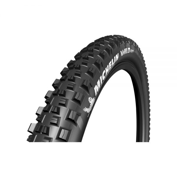 Michelin Wild AM Performance TLR MTB Tyre - Folding Bead - Black, Black