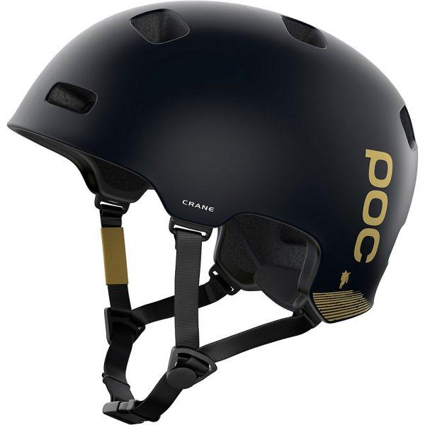 POC Crane MIPS MTB Helmet (Fabio Ed.) 2021 - M/L - Uranium Black Matt-Gold, Uranium Black Matt-Gold