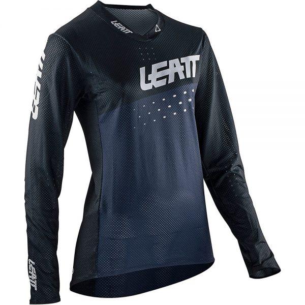 Leatt Women's MTB 4.0 UltraWeld Jersey 2021 - XL - Black, Black