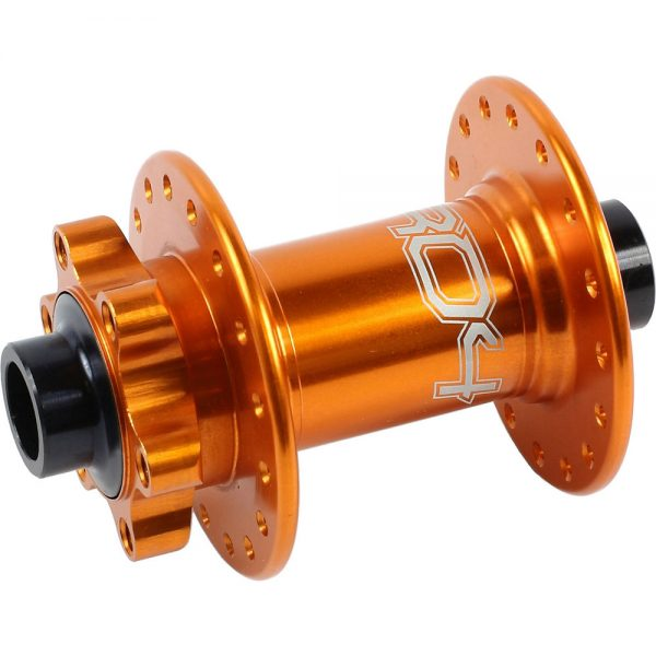 Hope Pro 4 MTB Front Hub - 28h - 15mm Axle - Orange, Orange