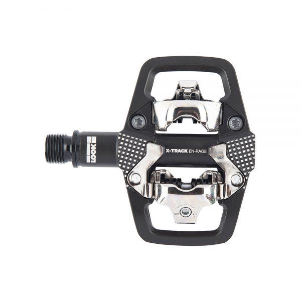 Look X-Track Rage MTB Pedals - Black, Black
