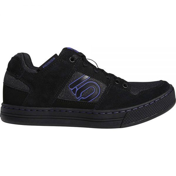 Five Ten Women's Freerider MTB Shoes - UK 7.5 - Carbon-Black-Purple, Carbon-Black-Purple