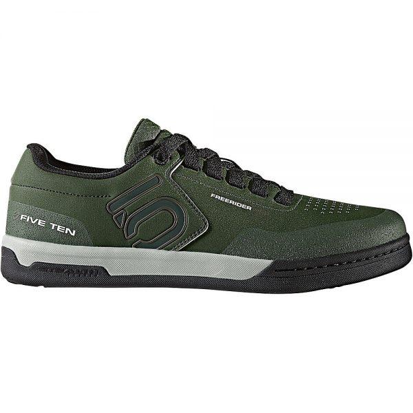 Five Ten Freerider Pro MTB Shoes - UK 7.5 - Olive-Khaki-Silver, Olive-Khaki-Silver