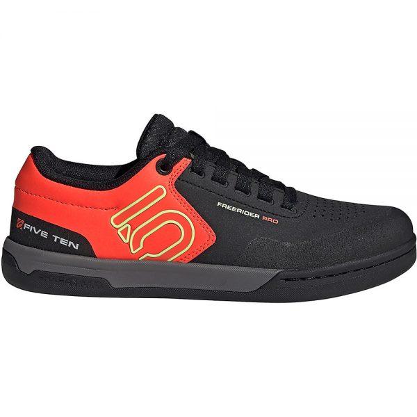 Five Ten Freerider Pro MTB Shoes - UK 9.5 - BLACK-RED, BLACK-RED