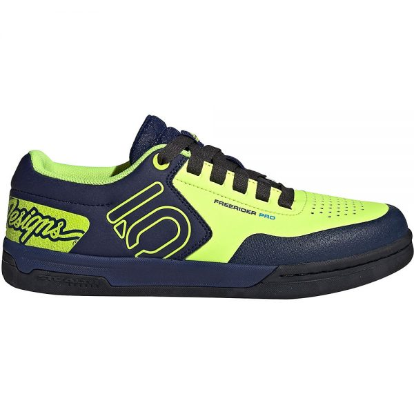 Five Ten Freerider Pro TLD MTB Shoes (2019) - UK 9 - Solar Yellow-Solar Yellow-Carbon, Solar Yellow-Solar Yellow-Carbon