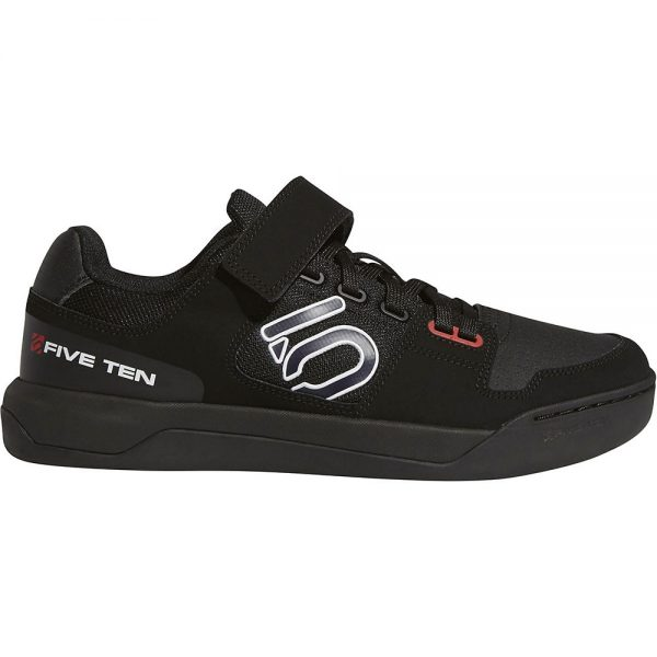 Five Ten Hellcat MTB Shoes - UK 9.5 - Black-White-Red, Black-White-Red