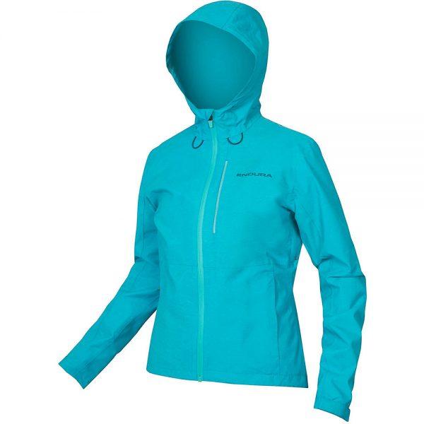 Endura Women's Hummvee Waterproof MTB Jacket 2020 - L - Pacific Blue, Pacific Blue