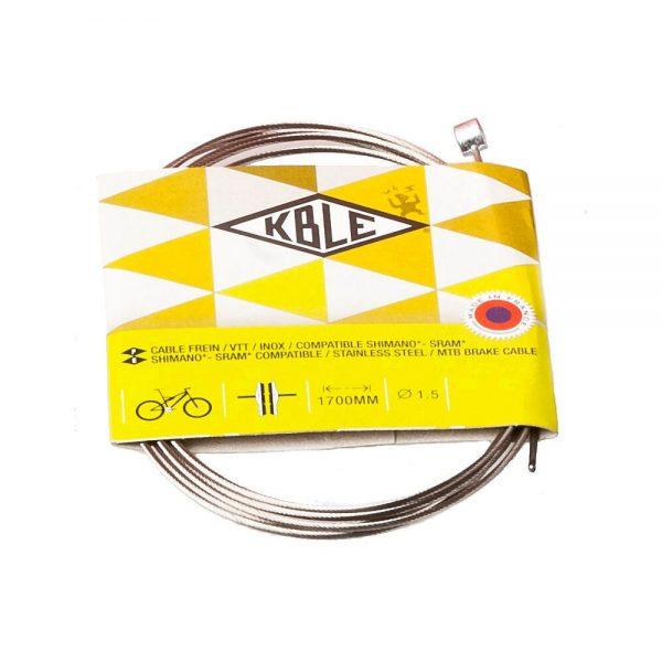 Transfil Shimano MTB Brake Cable Inner - Silver, Silver