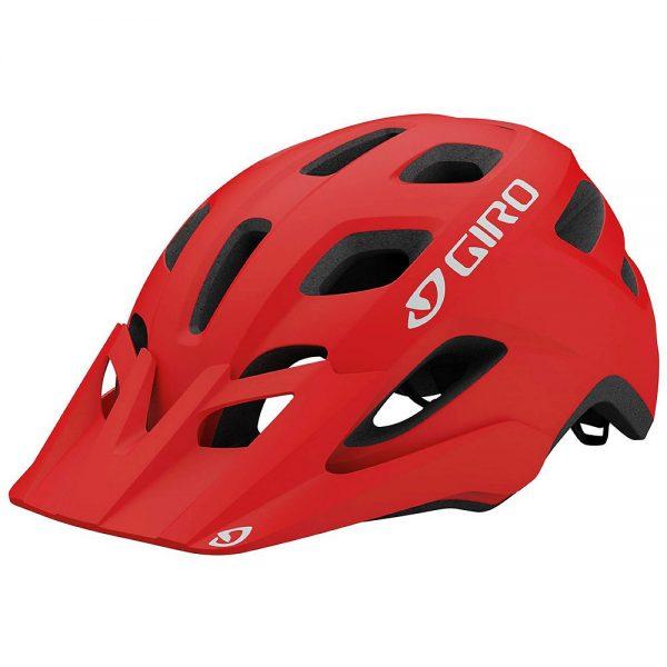 Giro Fixture MTB Helmet 2019 - One Size - Matte Trim Red, Matte Trim Red