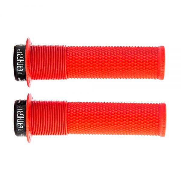 DMR Brendog Death Grip MTB Grips - 135mm - Red, Red
