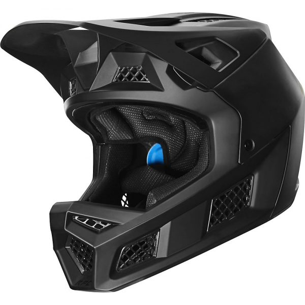 Fox Racing Rampage Pro Carbon Full Face MTB Helmet - M - Black, Black