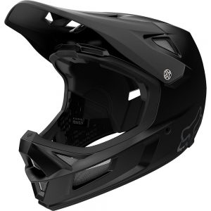 Fox Racing Rampage Comp Full Face MTB Helmet - M - Black, Black