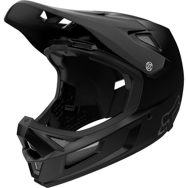 Fox Racing Rampage Comp Full Face MTB Helmet - M - Black, Black