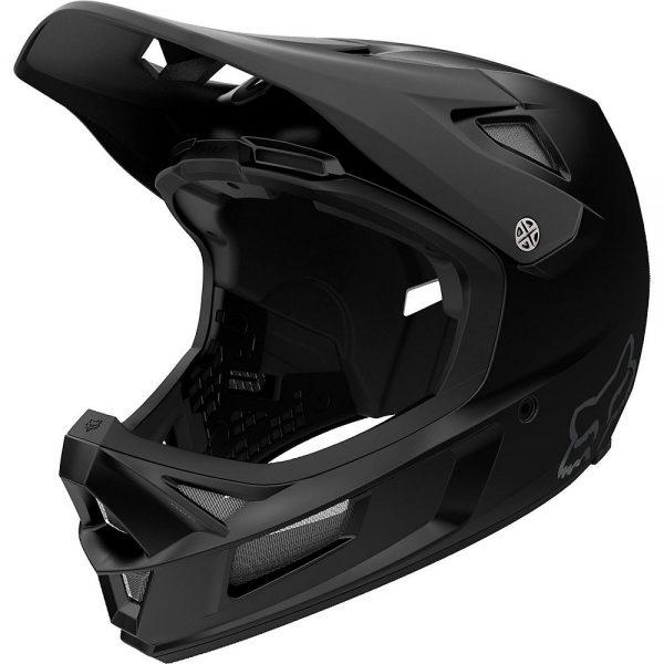Fox Racing Rampage Comp Full Face MTB Helmet - XXL - Black, Black