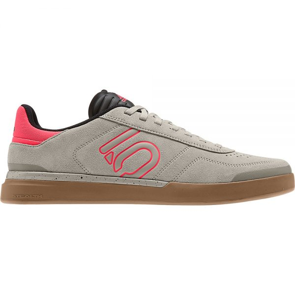 Five Ten Sleuth DLX MTB Shoes - UK 12.5 - Grey-Red-Gum, Grey-Red-Gum