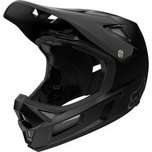 Fox Racing Rampage Comp Full Face MTB Helmet - L - Black, Black
