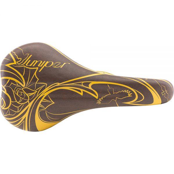 Chromag Juniper LTD Women's MTB Saddle - 141mm Wide - Goldhide, Goldhide