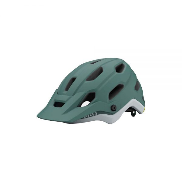 Giro Womens Source MIPS MTB Helmet 2021 - S - Grey-Green, Grey-Green